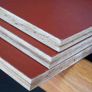 Building construction film faced bamboo plywood